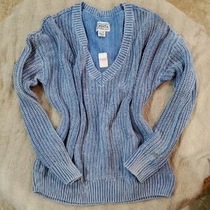 NWT, VS PINK V-neck Sweater Large l1